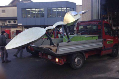 Transport Ins Spritzwerk